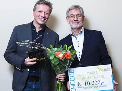 Passion for People krijgt €10.000,- van Wilde Ganzen