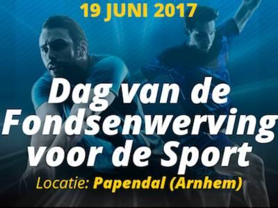 19 juni: Dag van de Fondsenwerving voor de Sport