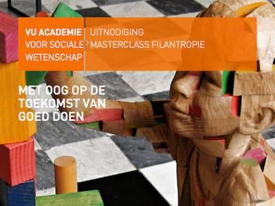 3 oktober: Gratis masterclass filantropie: met oog op de toekomst van goed doen