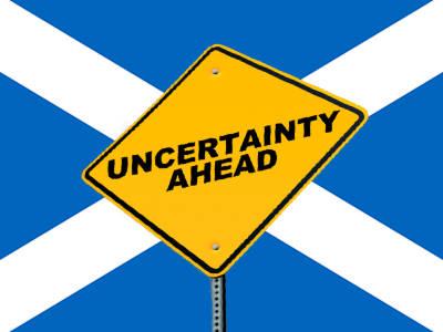Schotse goede doelen zijn onzeker over de toekomst.