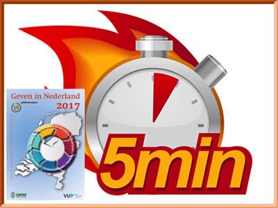 Geven in Nederland 2017 in minder dan vijf minuten